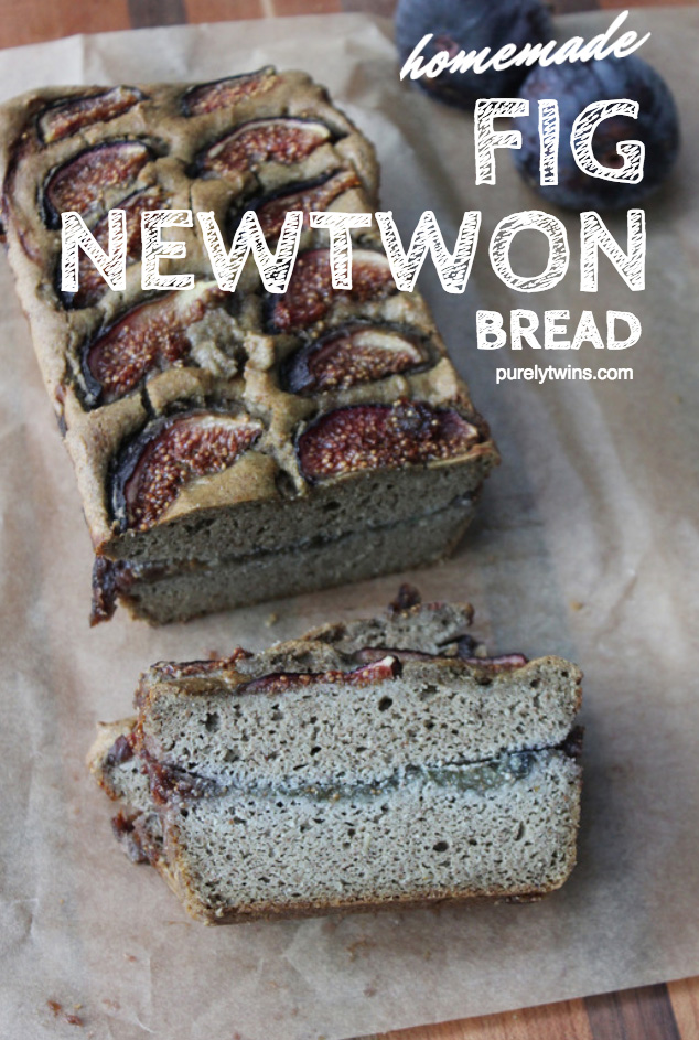 homemade fig newton bread gluten and grain free made with real ingredients via purelytwins