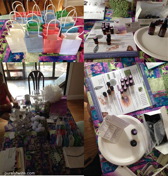 making doterra shower gifts