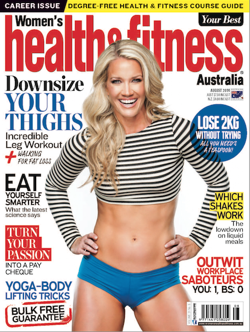 health and fitness magazine mention