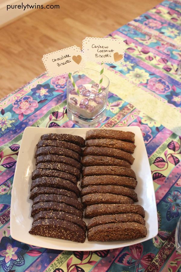 raw biscotti