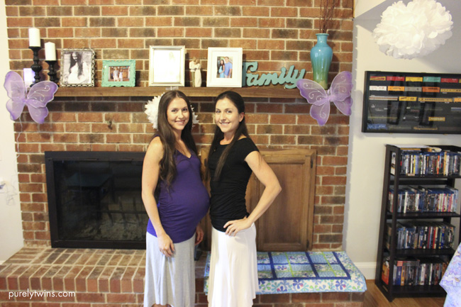 twins baby shower charlotte