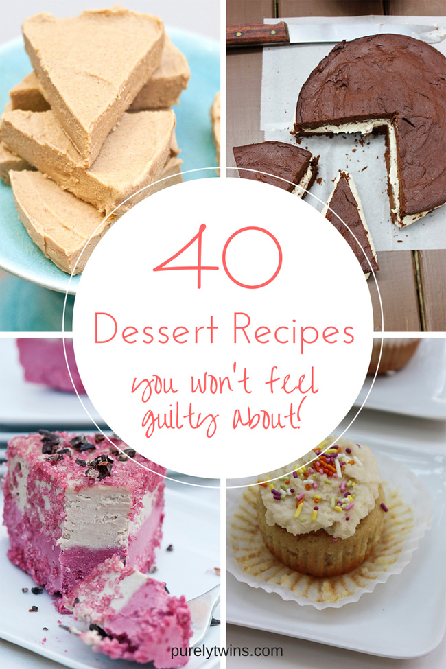 40 desserts you won't feel guilty about eating