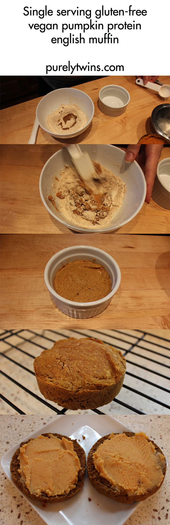how-to-make-pumpkin-protein-english-muffin-for-one