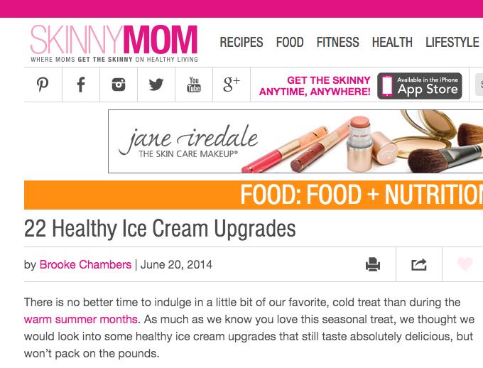 ice cream skinny mom feature