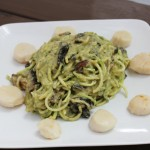 wannabe alfredo sauce with sizzlefish scallops recipe + tutorial video