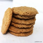 4 ingredient peanut butter cookie recipe (grain-free, egg-free)