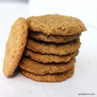 the best 4 ingredient 10 minute cookie recipe (grain-free, egg-free)