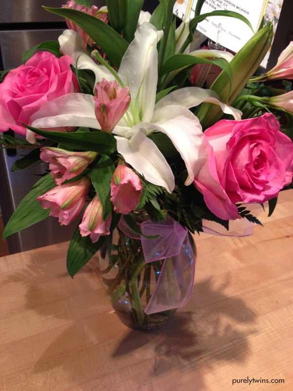 beautiful-flowers-from-grandpa-for-new-baby