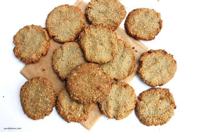 Grain-free egg-free lactation cookies