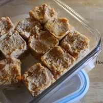 Life lately plus sugar-free pumpkin fudge video