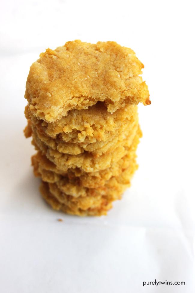 5 ingredient pumpkin cookies (grain,gluten,dairy,egg,soy free)