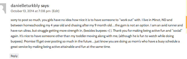purely fit life club testimonial from busy  mom