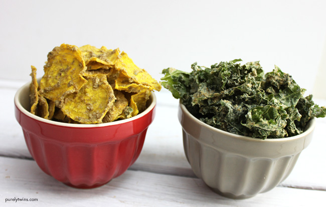 Cheezy beet and kale chip recipe (raw, vegan, paleo, gluten-free, soy-free)