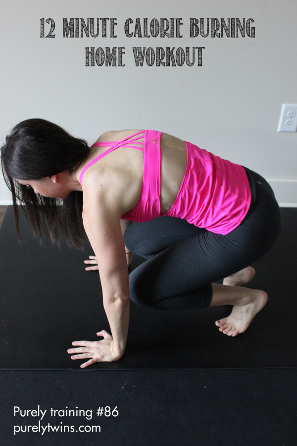12 minute calorie burning workout for busy ladies