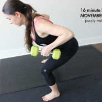 Movember full body blast workout