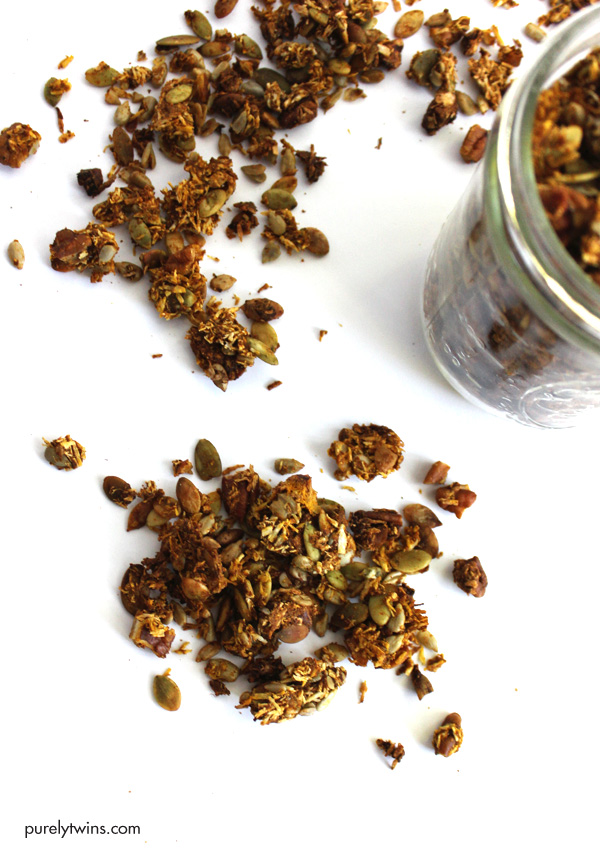 healthy-gluten-free-grain-free-no-sugar-added-homemade-pumpkin-granola