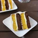 Oreo kabocha squash layer cake (gluten, grain, sugar and dairy free)