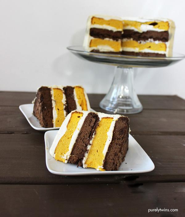 the best fall cake allergy free cake no sugar paleo oreo pumpkin cake