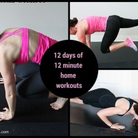 12 days of Christmas home workouts