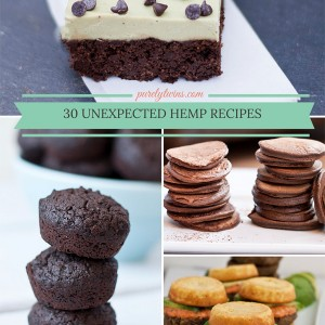 30 recipes using hemp protein and hemp seeds that you haven't tried yet via @purelytwins