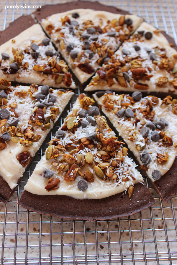 cashew-cream-chocolate-chips-granola-chocolate-breakfast-pizza-purelytwins