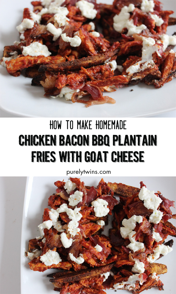 how-to-make-homemade-bbq-chicken-plantain-fries-with-goat-cheese