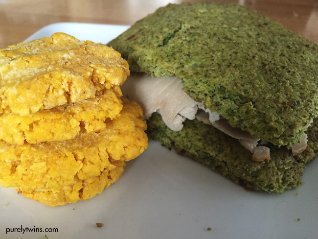 pumpkin-cookies-with-broccoli-bread-sandwich