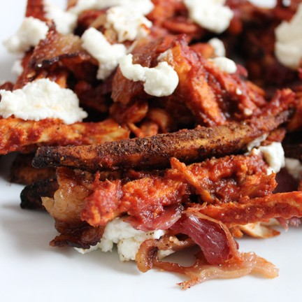 Chicken bacon bbq fries (gluten and grain free)