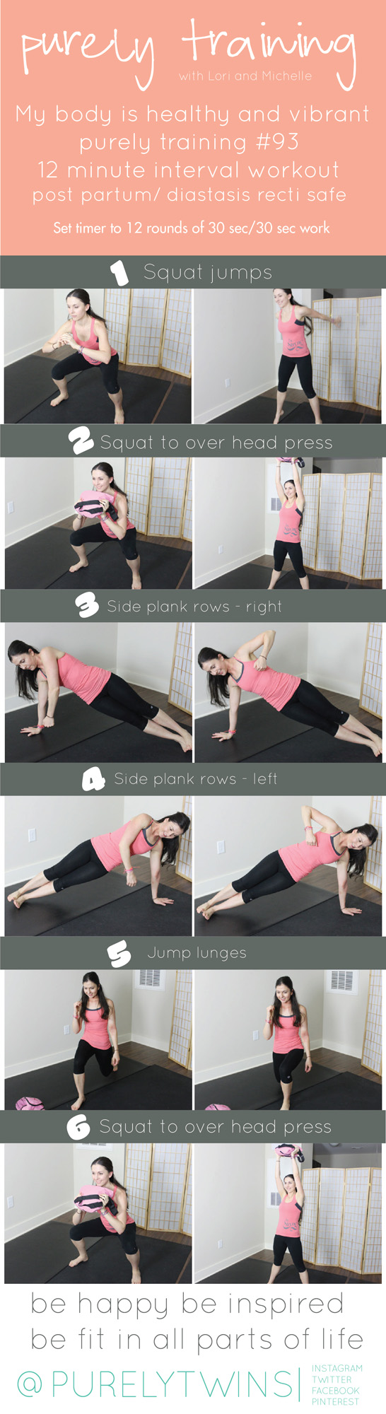 12 minute leg core workout. Safe for moms that have distasis recti,