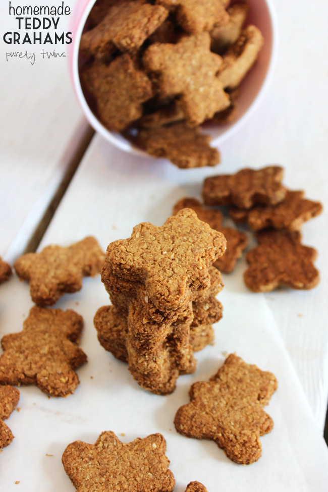 Crunch teddy grahams