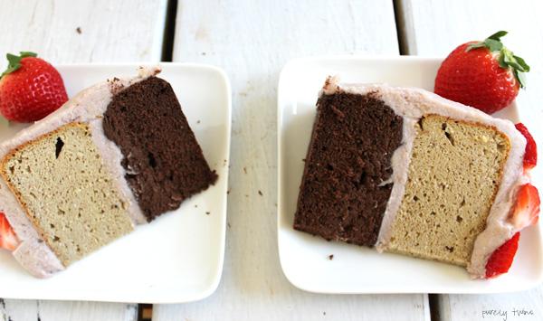Sugar-free Neapolitan Cake (gluten, grain and dairy-free)