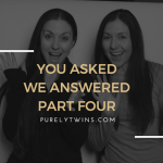 You asked. We answered. Part four.