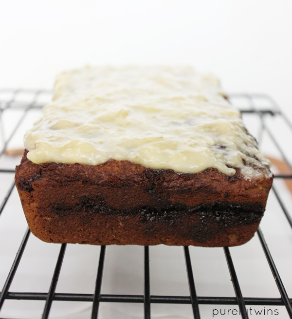 quick and easy cinnamon roll protein banana bread recipe