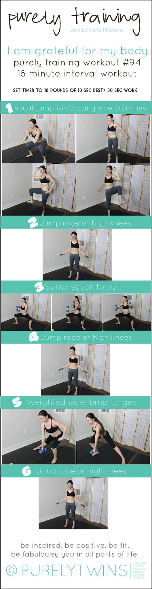 18 minute workout i am grateful for my body