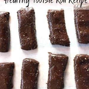 Healthy real food no junk tootsie roll recipe without corn syrup and milk