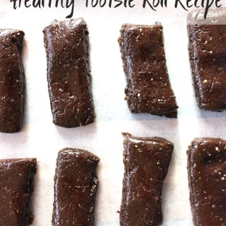 5 ingredient grown-up dark chocolate tootsie rolls