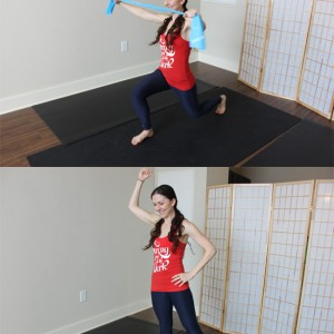 home workout using bodyweight and resistance band for post-partum mom safe for those with diastasis recti ||purelytwins.com #postpartum #bodyafterbaby