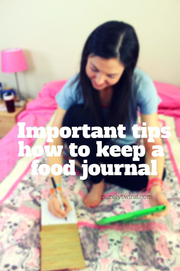 How to keep a food journal. Learn from my mistakes.