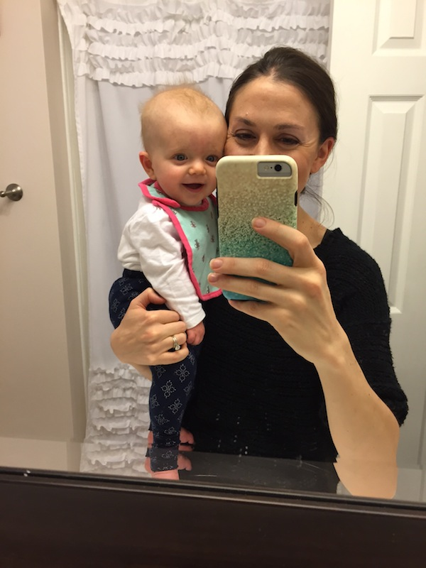mom-daughter-selfie-6-month-old