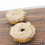 3 ingredient baked protein plantain donut for two (grain-free, egg-free, sugar-free)