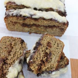 Protein cinnamon roll banana bread recipe