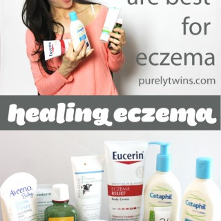 What lotions are best to heal eczema. My current products I use on my skin.