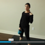 KB challenge – swings and squats