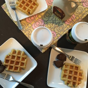coconut-protein-waffles-for-breakfast