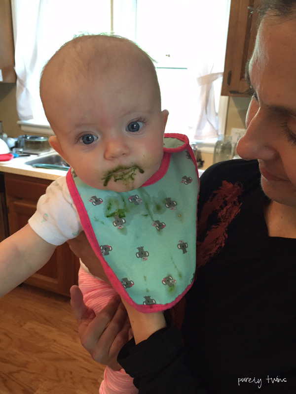 baby-has-green-juice-mustache