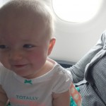 First airplane ride (video)
