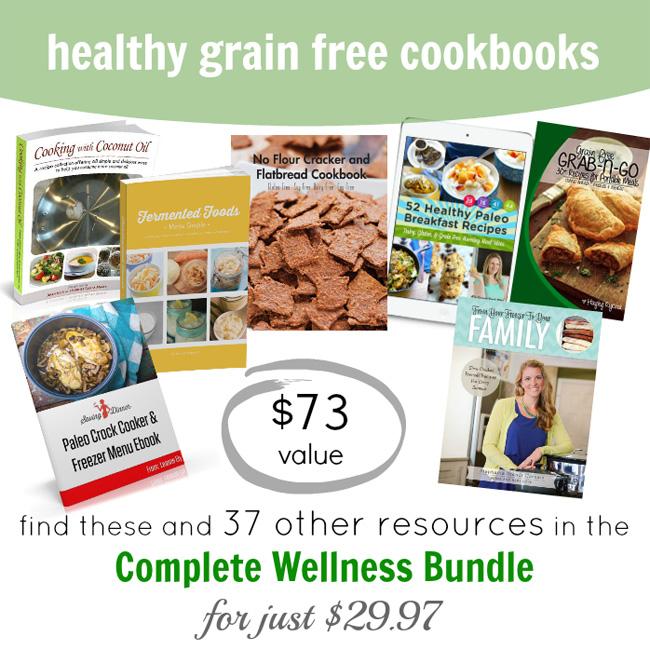 grain free cookbooks image