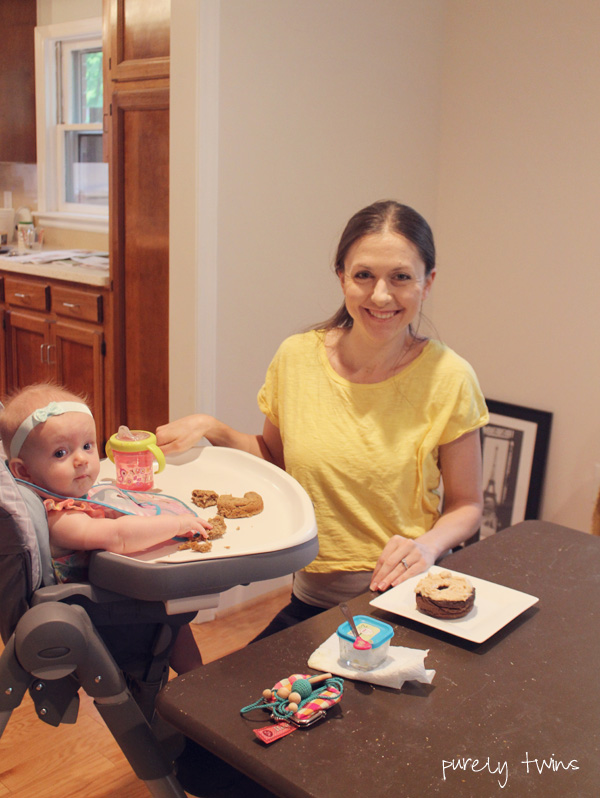 mothers-day-breakfast-with-my-7month-old-daugther-having-grain-free-donuts