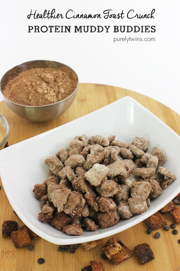 Protein cinnamon toast crunch muddy buddies recipe