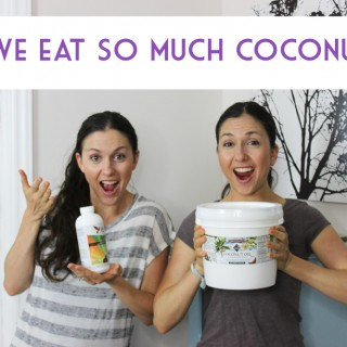 Why we eat coconut oil and breastfeeding for core strength